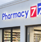 slide Pharmacy 777 Retail Signage